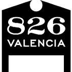 826 Valencia logo