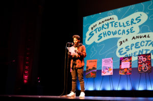 Join us for this year's Storytellers' Showcase!
