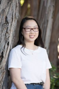 Joelle Chien, an 826 Valencia student, examines racism against Asian Americans