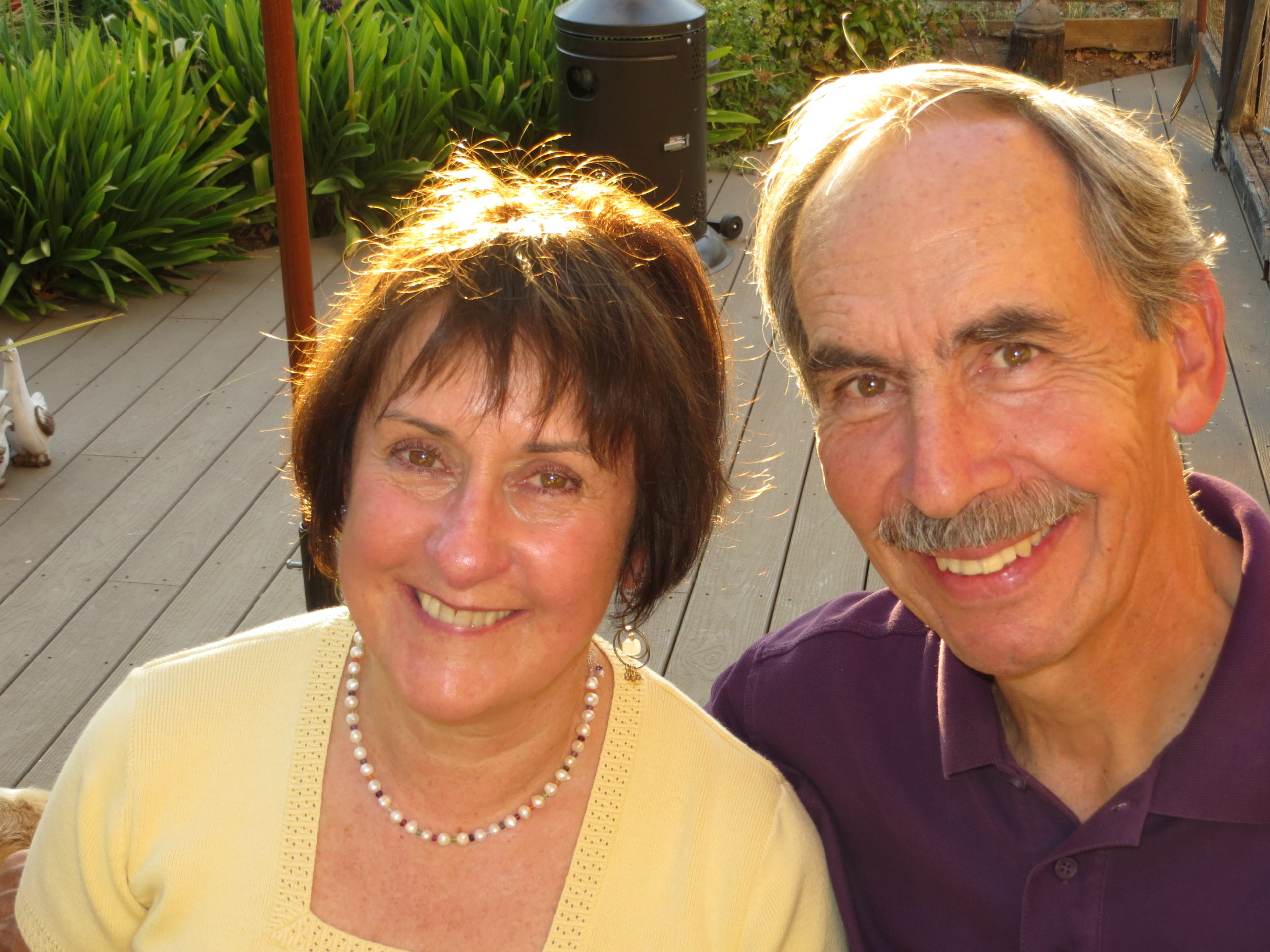 Gene and Susan Valla, our cherished supporters